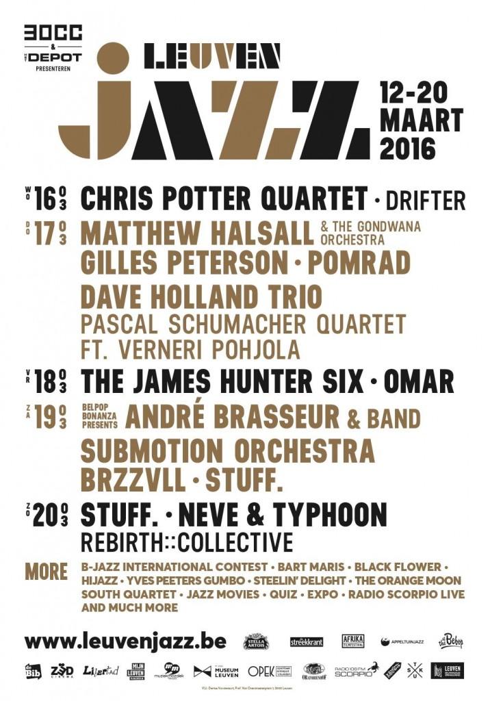 Matthew Halsall & The Gondwana Orchestra live @ Leuven Jazz Festival 2016