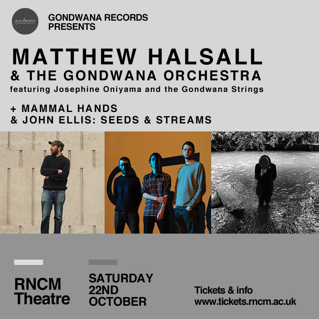 Matthew Halsall & The Gondwana Orchestra @ RNCM
