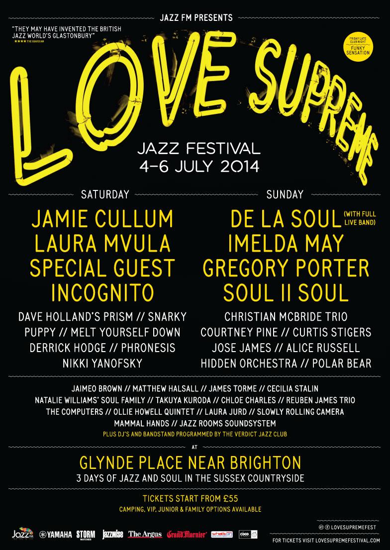 Matthew Halsall & Mammal Hands Love Supreme Festival 2014