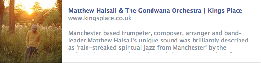 Matthew Halsall Kings Place London