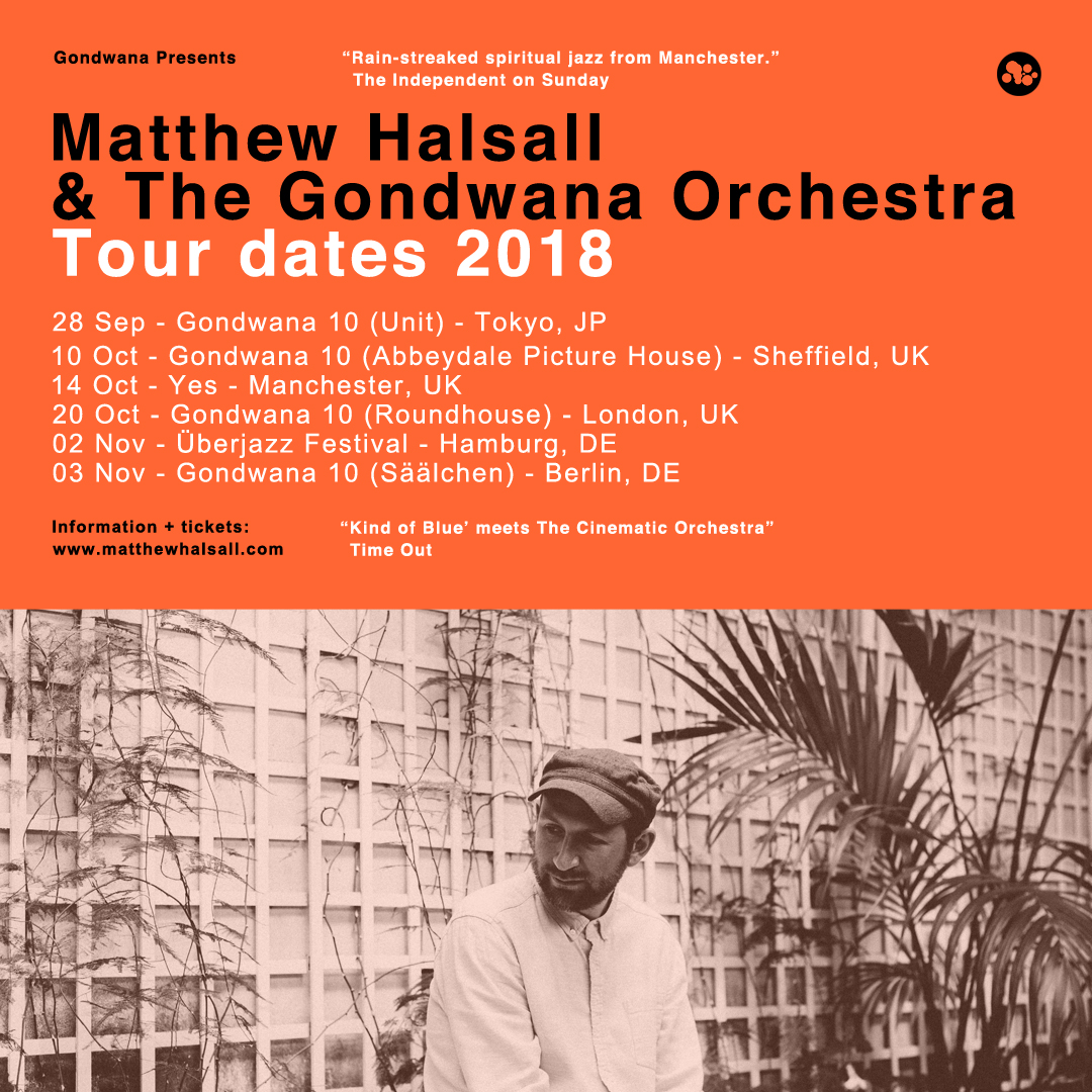 Matthew Halsall Tour Flyer 2018