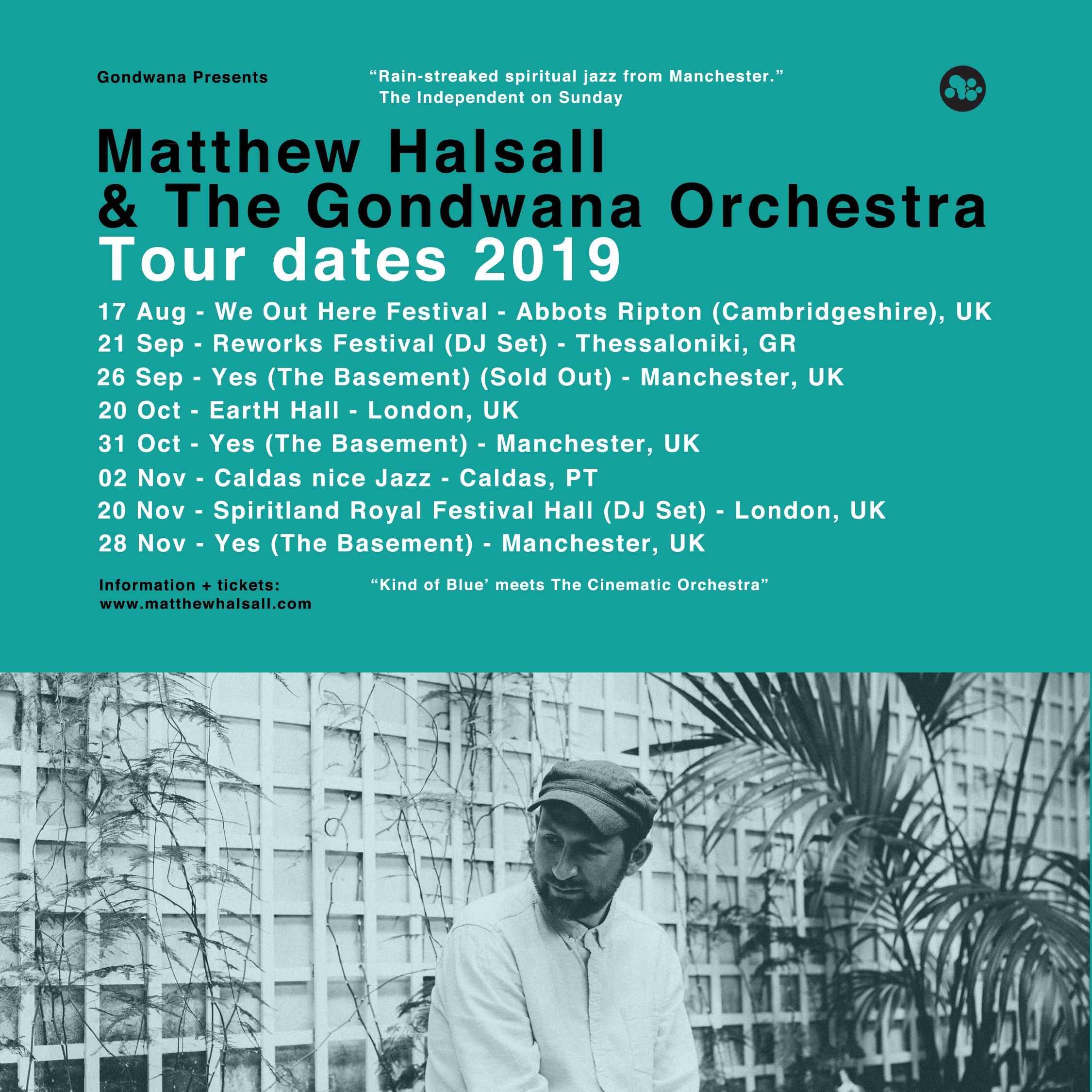 Matthew Halsall Tour Dates 2019